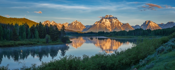 Oxbow Bend Sunrise (Grand Teton National Park)
